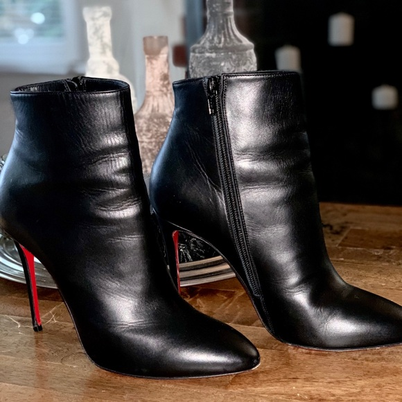 super popular f10f5 d0c32 Christian Louboutin So Kate Booties 100mm